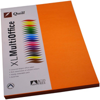 QUILL XL MULTIOFFICE 80GSM A4 Paper Orange 100 Sheets Ream