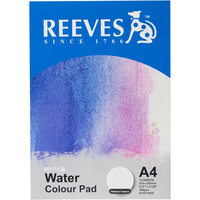REEVES WATER COLOUR PAD A3 300GSM Medium Texture 12 Sheets