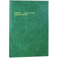 COLLINS ANALYSIS 61 SERIES A4 8 Money Column Green