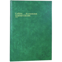 COLLINS ANALYSIS 61 SERIES A4 14 Money Column Green