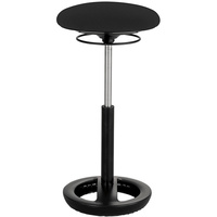 TWIXT ACTIVE SEATING STOOL Extended-Height Black