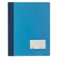 DURABLE FLAT FILE A4 Extra Wide Premium Blue Translucent