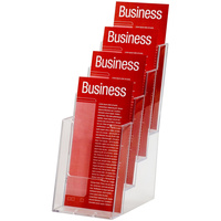 ESSELTE BROCHURE HOLDER DL 4 Tier Free Standing