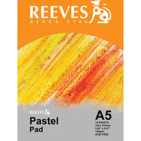 REEVES PASTEL PAD A5 110GSM 15 Sheets