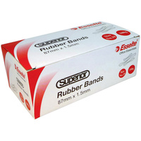 SUPERIOR RUBBER BAND Size 19 100gm Box