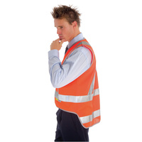 ZIONS 3802 SAFETY VEST Day & Night Cross Back