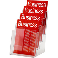 ESSELTE BROCHURE HOLDER A5 4 Tier Free Standing