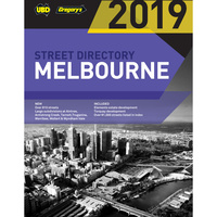 UBD STREET DIRECTORY 2019 Melbourne - 53rd Edition
