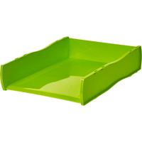 ESSELTE NOUVEAU DOCUMENT TRAY Lime