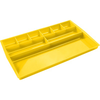ESSELTE NOUVEAU DRAWER TIDY Lemon