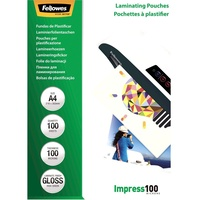Fellowes Laminating Pouches A4 100 Micron Pack of 100