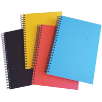 SPIRAX NOTEBOOK HARDCOVER 511 225x175mm 200 Page Assorted