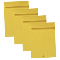 CUMBERLAND ENVELOPE POCKET P4 107mm x 60mm Gold Box of 1000