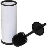 COMPASS TOILET BRUSH  Powder Coated White