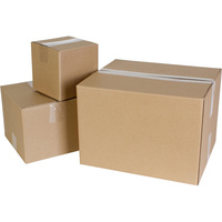 CUMBERLAND SHIPPING BOX Heavy Duty Brown 508mm x 356mm x 381mm Pack of 25