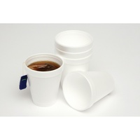 MARBIG DISPOSABLE FOAM CUPS No.6 175ml Pack of 25