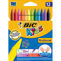 BIC PLASTIDECOR 421 CRAYON Pack of 12