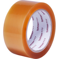 Sellotape 777 Natural Rubber Adhesive Packaging Tape 36mmx75m Clear
