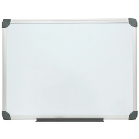 NOBO COMMERCIAL WHITEBOARD Magnetic Aluminium Frame 600mm x 900MM