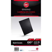 IBICO BINDING COVERS A4 Leathergrain Black