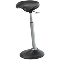 SAFCO UPRIGHT  MOBIS II STOOL Black
