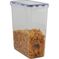 ITALPLAST AIR LOCK Food Container 4400ml Clear 4400ml Clear