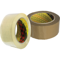 SCOTCH PACKAGING TAPE 370 Film 48mm x 75m Brown
