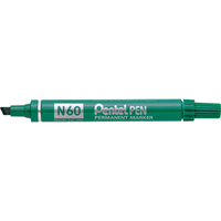 PENTEL PERMANENT MARKERS N60 Chisel Green