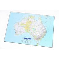 CUMBERLAND MAP DESK MATS 440x630mm Map of Australia