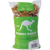 BOUNCE RUBBER BANDS® SIZE 64  500GM BAG