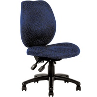 SABINA TYPIST CHAIR Blue